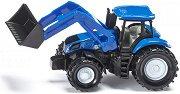 """Трактор с преден товарач - New Holland - Метална играчка от серията """"Super: Agriculture"""" - играчка"""