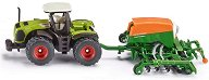 Трактор с редосеялка - Claas Xerion - играчка