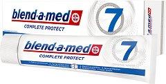 Blend-a-med Complete Protect 7 Crystal White - Паста за зъби за цялостна защита и избелване - нокторезачка