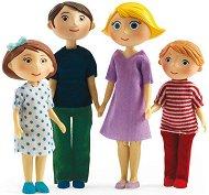 Семейство кукли - Комплект от 4 броя - детски аксесоар