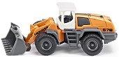 """Багер с преден товарач - Liebherr - Метална играчка от серията """"Super: Cranes"""" - играчка"""