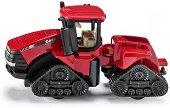 """Верижен трактор - Case IH Quadtrac 600 - Метална играчка от серията """"Super: Agriculture"""" - количка"""