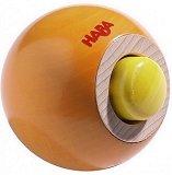 Топка със звукови ефекти - Дървена играчка - играчка