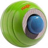 Релефна топка със звукови ефекти - Дървена играчка - играчка