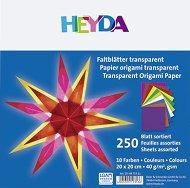 Паус за оригами - Комплект от 250 листа с размер 20 x 20 cm