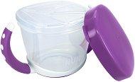 Лилава пластмасова купа за закуска - продукт