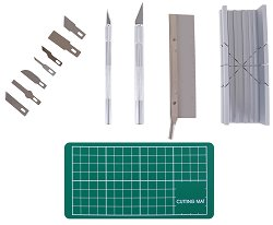 Професионален комплект инструменти за рязане - За сглобяване на модели и макети -