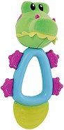 Дъвкалка с охлаждащ ефект - Fun Pal: Алигатор - За бебета над 4 месеца -