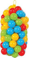 Пластмасови топки - С диаметър 6 cm - раница