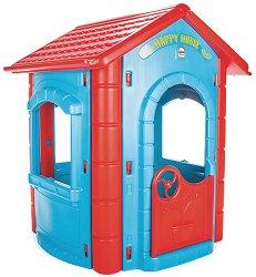 Детска сглобяема къща за игра - Happy House - играчка