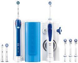 Oral-B Oral Health Center - Зъбен център с електрическа четка и зъбен душ -