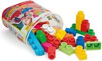 """Бебешки цветен конструктор с меки части - От серията """"Clemmy - My Soft World"""" -"""
