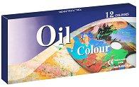 Маслени бои - Комплект от 12 цвята x 12 ml