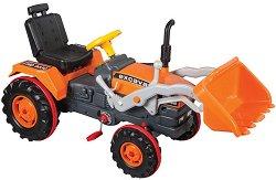 Фадрома - Excavator - Детски трактор с педали - играчка