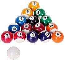 Билярдни топки - Комплект от 16 броя - играчка