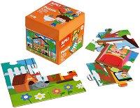 Моят дом - Детски пъзел в кутия - пъзел