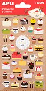 Стикери - Торти и къпкейкове - Комплект от 43 броя