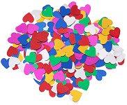 Декоративни фигурки - Разноцветни сърца