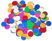 Декоративни фигурки - Разноцветни кръгчета - Опаковка от 15 g