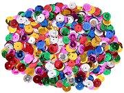 Декоративни фигурки - Разноцветни пайети - Опаковка от 15 g