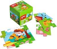Фермата - Детски пъзел в кутия -