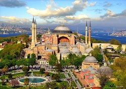 Света София, Истанбул - Шефик Байрам (Sefic Bayram) - пъзел