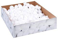 Фигури за декорация от стирофом - Топки и яйца - Комплект от 450 броя