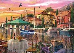 Залез на пристанището - Доминик Дейвисън (Dominic Davison) - пъзел