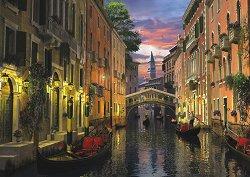 Венеция по здрач - Доминик Дейвисън (Dominic Davison) - пъзел
