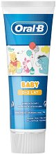 Oral-B Baby 0 - 2 Years Fluoride Toothpaste - самобръсначка