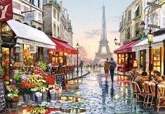 Магазин за цветя в Париж - пъзел