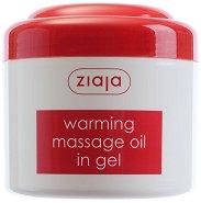 Гелообразно масажно олио за лице и тяло - Със затоплящо действие - крем
