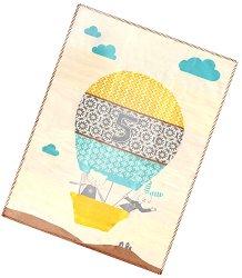"""Бебешко одеяло - Балон - Размер 75 x 100 cm от серия """"Lena"""" -"""