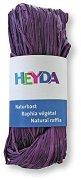 Натурална рафия - виолетова - Опаковка от 50 g