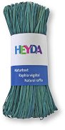 Натурална рафия - пастелно синя - Опаковка от 50 g
