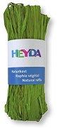Натурална рафия - пастелно зелена - Опаковка от 50 g