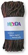Натурална рафия - кафява - Опаковка от 50 g