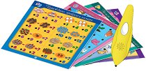 Умна писалка Mini - Двустранни карти със задачи - Образователна играчка - играчка