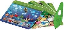 Умна писалка Mini - Двустранни карти със задачи - Образователна играчка -