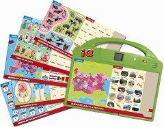 IQ игра с въпроси - Свят, човек и природа - Образователна играчка - хартиен модел