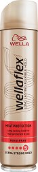 Wellaflex Heat Protection Ultra Strong Hold Hairspray - лак
