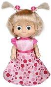 """Маша със стилна рокля - Кукла от серията """"Маша и мечока"""" - играчка"""