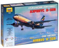 Пътнически самолет - Airbus A-320 - Сглобяем авиомодел -