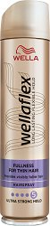 Wellaflex Fullness for Fine Hair - Лак за коса за плътност с екстра силна фиксация -