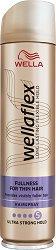 Wellaflex Fullness for Thin Hair Ultra Strong Hold Hairspray - лак