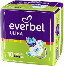 Дамски превръзки с крилца - Everbel Ultra Normal - Опаковки от 10 ÷ 20 броя -