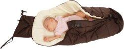 Бебешко чувалче - Fluffy: Brown - Аксесоар за детска количка -