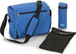 Чанта - Britax: Blue Sky - Аксесоар за детска количка с подложка за преповиване и термо-бокс -