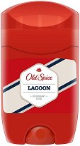 """Old Spice Lagoon Deodorant Stick - Стик дезодорант за мъже от серията """"Lagoon"""" - продукт"""