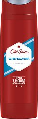 "Old Spice Whitewater Shower Gel - Душ гел за мъже от серията ""Whitewater"" - крем"